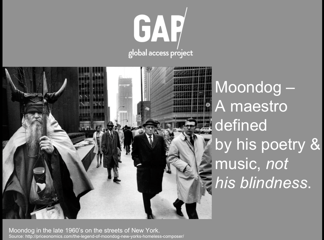 Moondog - A maestro defined by his poetry and music, not his