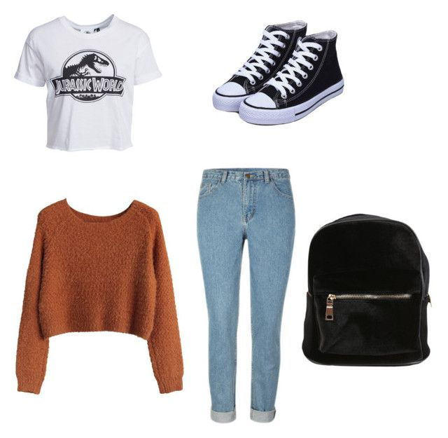 """""""School outfit"""" by tanyarubio on Polyvore featuring New Look"""