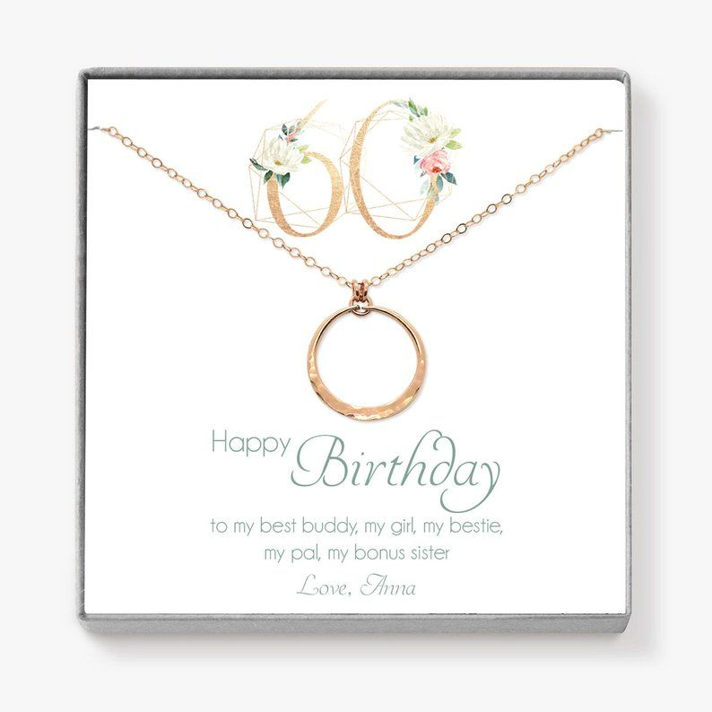 60th birthday gift for friend best friend gift circle