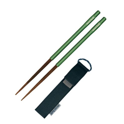 Light and compact chopsticks for travel and camping. Sturdy laminated wooden tip and stainless steel handle for durability and strength. Works just like collapsible trekking pole, pick retracts into handle for storage. Can be completely disassemble for easy washing.