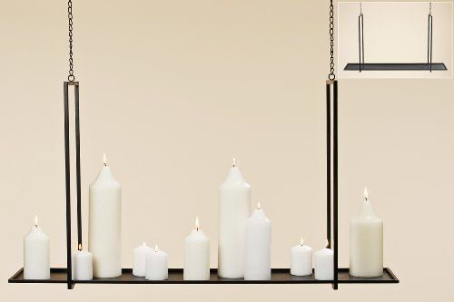 "Ceiling Candle Holder Candle Light Dangler Hanger ELIAS Iron Chandelier 39.37"" DAFLOXX http://www.amazon.co.uk/dp/B00I3LXIFW/ref=cm_sw_r_pi_dp_u0OXvb1TY5EVX"