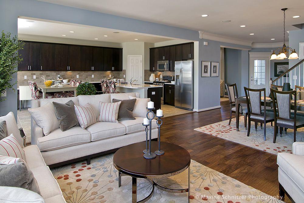 Schnitzer Home Design the avignon living room maxine schnitzer photography pulte homes
