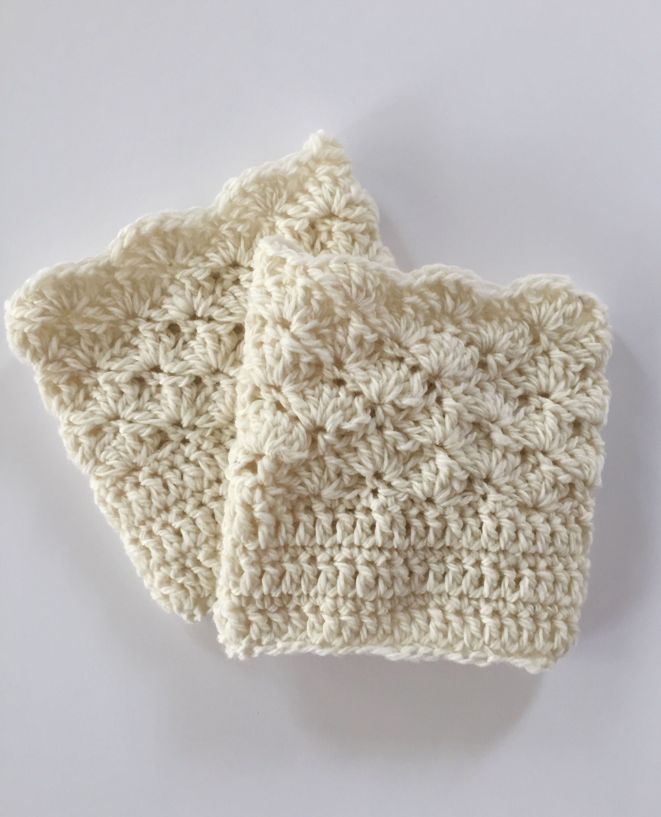 Crochet Pattern - Shells Boot Cuffs - Boot Socks for Girls - Women ...