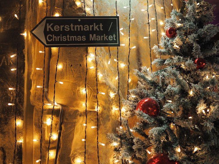 Kerstmarkt Grotten Valkenburg Happy New Year Travel The World