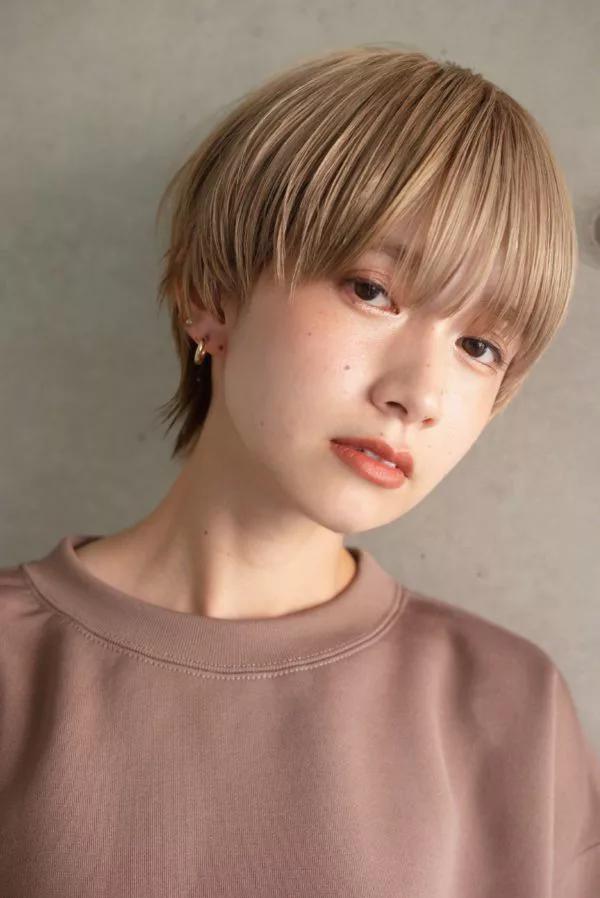 ハイトーン マッシュウルフ Loave Aoyama 佐脇 正徳のヘア