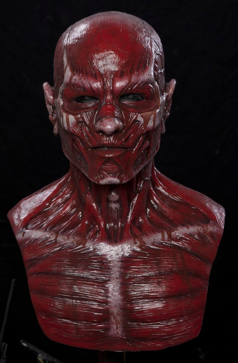 BLOODY FLAYED FRANK Silicone Mask | Cosplay and Character Design ...