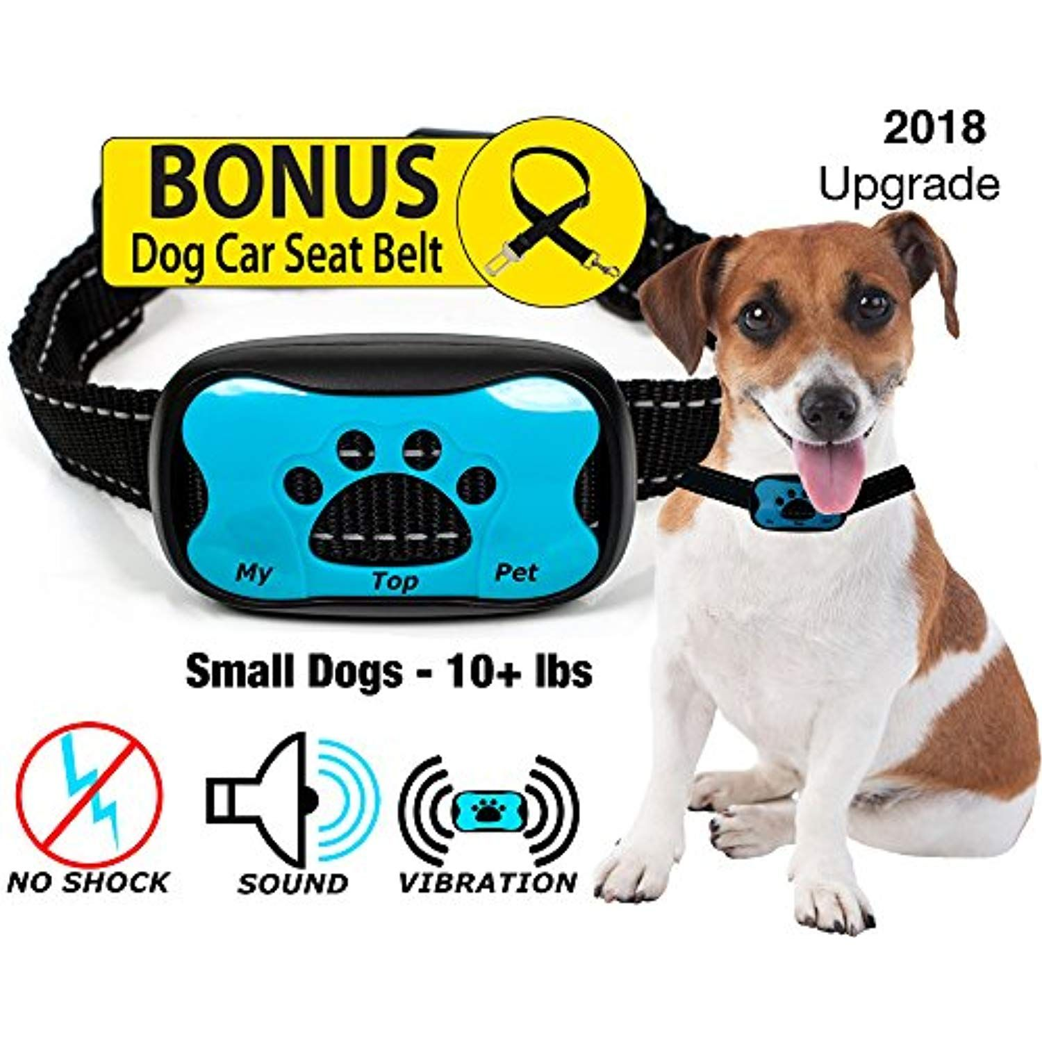 No Bark Dog Collar For Small Dogs And Dog Training Collar By
