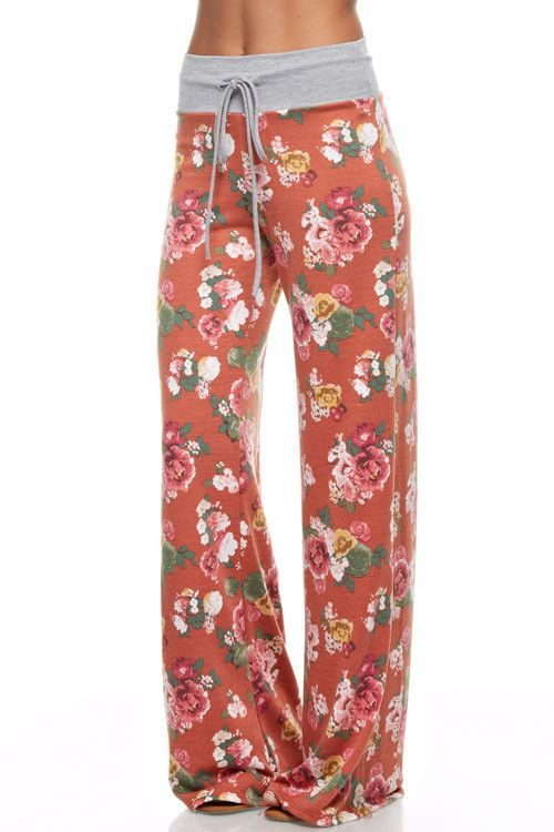 fe240fae9e Adjustable Drawstring Waist Pajama Lounge Pants | Hair Styles ...