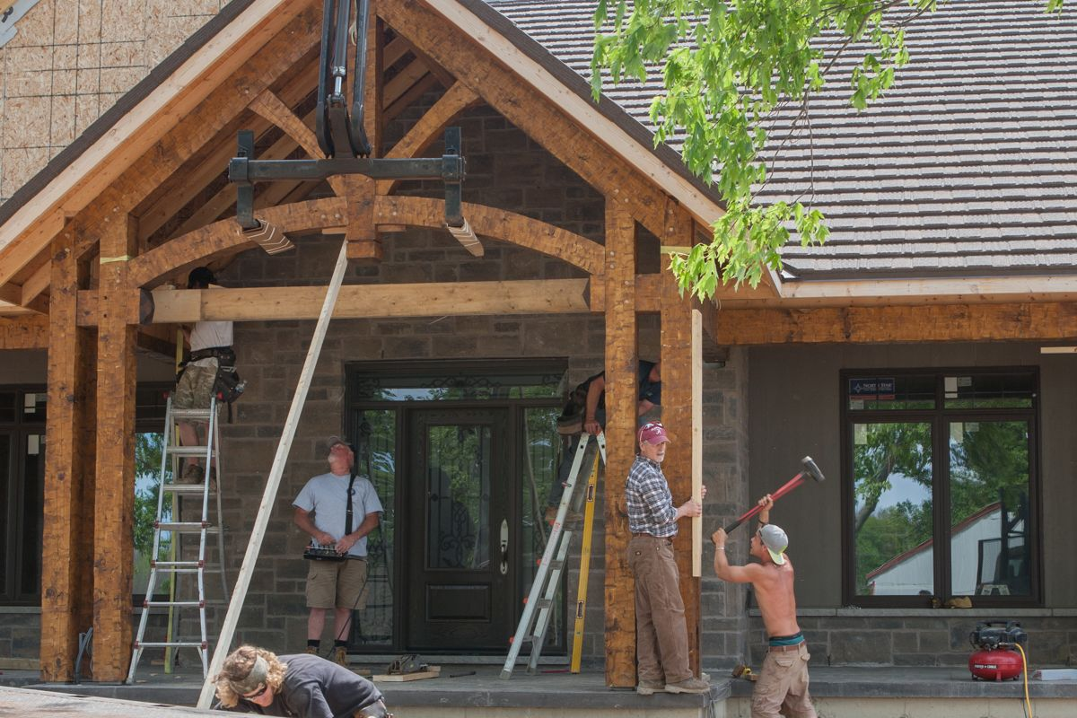wonderful timber frame porches #5: timber frame front porch - Google Search