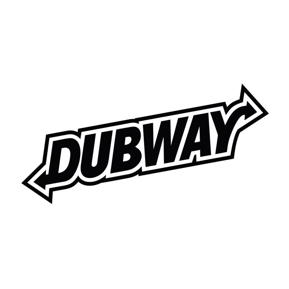Dubway Jdm Vw Euro Car Window Bumper Vinyl Decal Sticker Vinyl