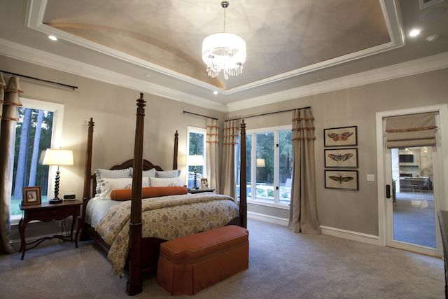 One of our latest bedroom designs for our 2016 custom homes by