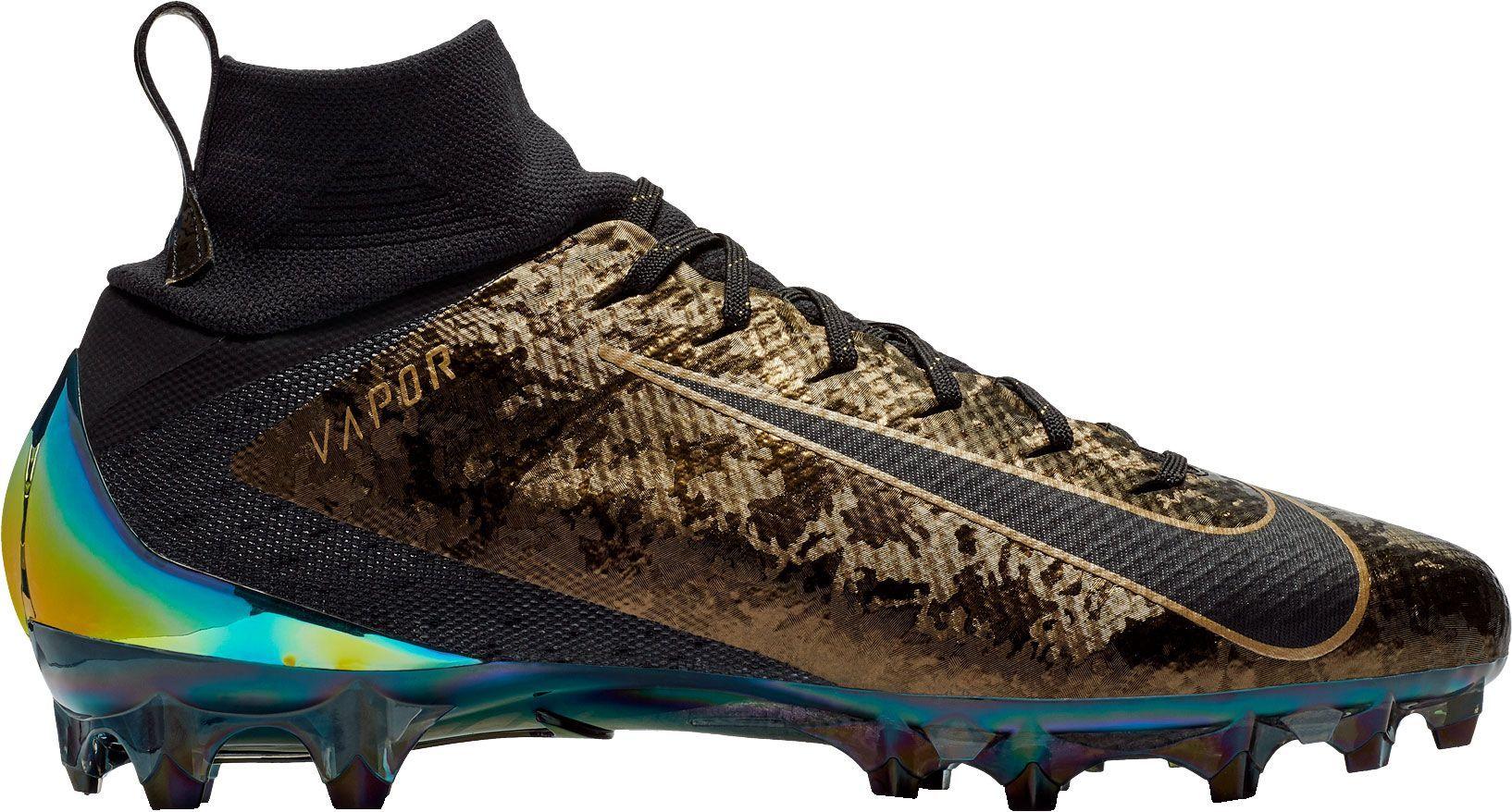 333d197fb445 Nike Men's Vapor Untouchable Pro 3 PRM Football Cleats, Size: 11.0, Black