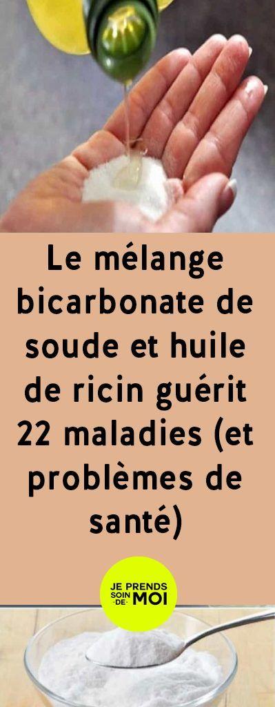 Le mélange bicarbonate de soude et huile de ricin guérit 22 maladies (et problèmes de santé)