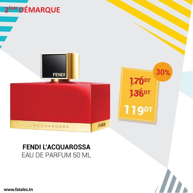 2ème Démarque Fendi Lacquarossa Eau De Parfum 50ml Ancien Prix