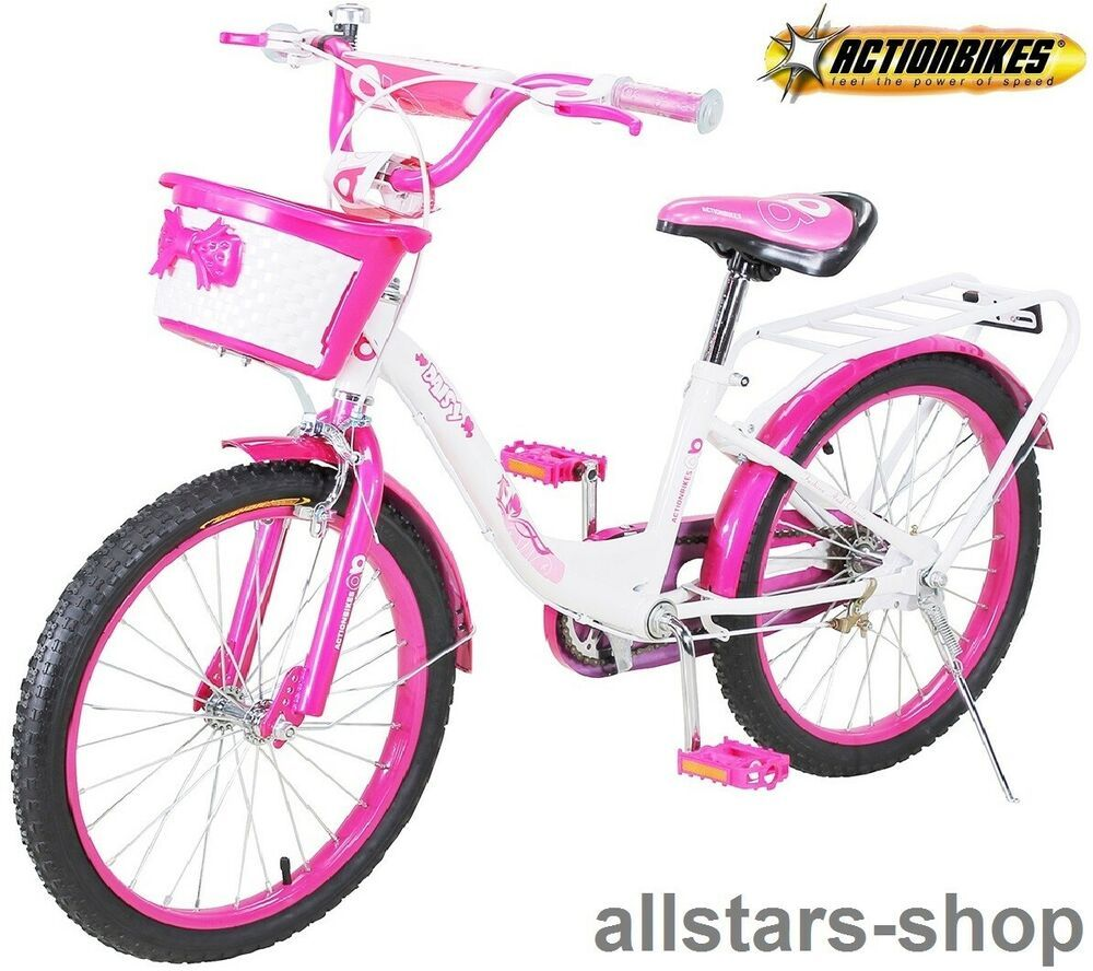 Actionbikes Kinderfahrrad Kinder Fahrrad A Daisy A 20 Zoll Pink Weia Bike Kinder Fahrrad Fahrrad Kinderfahrrad