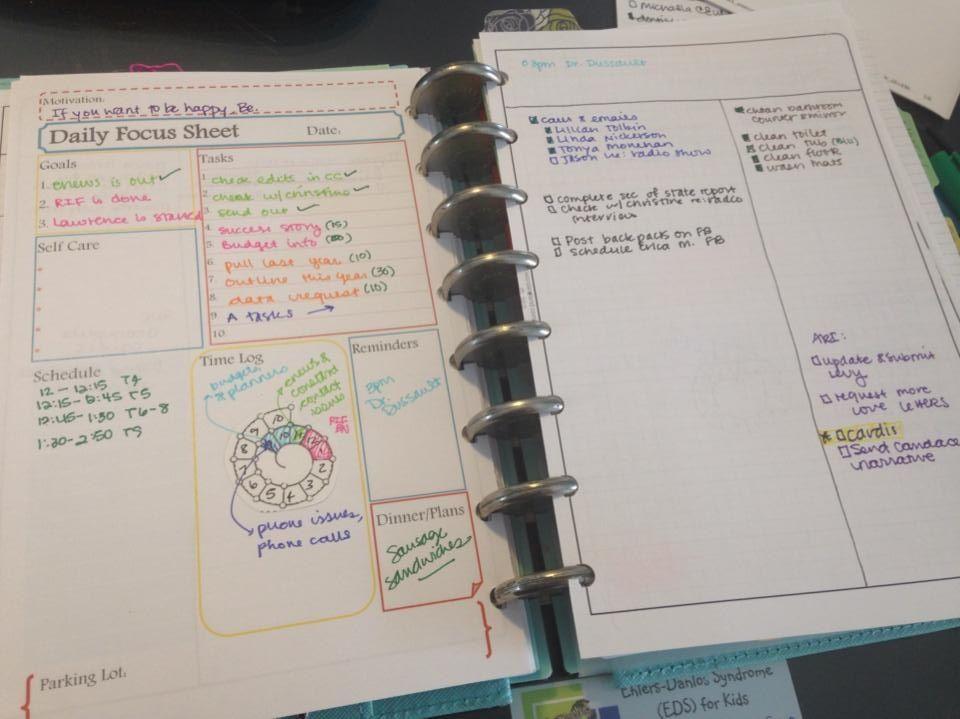 BuJo using Focus Sheet