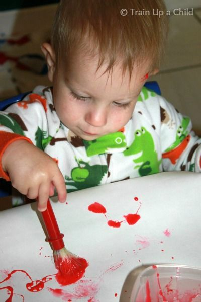 Train Up A Child Two Ingredient Baby And Toddler Safe Paint Kids