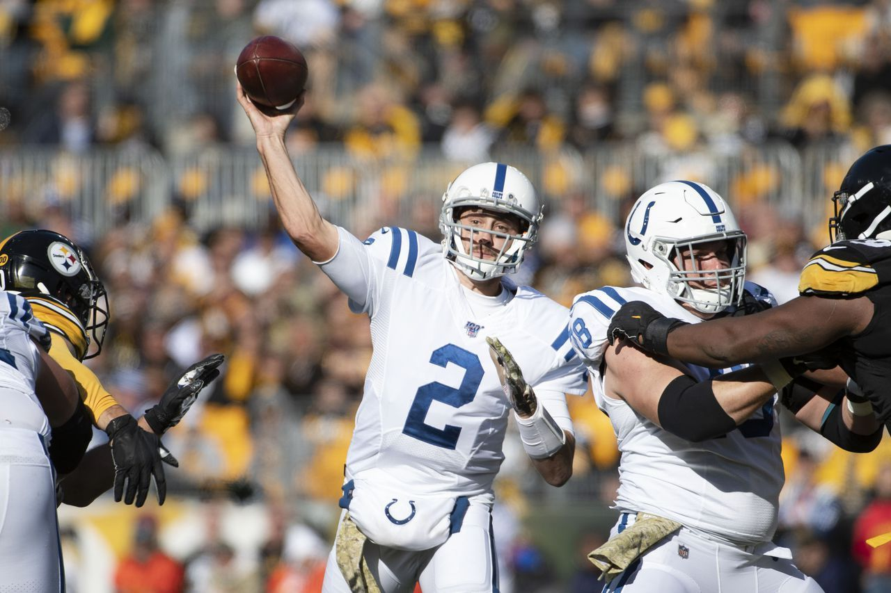 Spartans In The Nfl Brian Hoyer Pressed Into Action For Colts National Footba Nfl News National Football League Football League