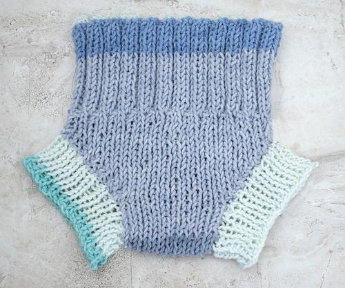 Easy Diaper Cover Knitting Pattern | Baby knitting ...