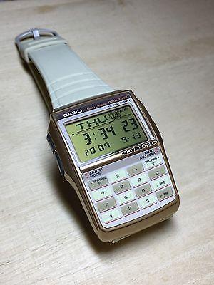 d59834c692e rare vintage casio DATABANK DBC-32 DBC-32C calculator watch NOS HTF ...