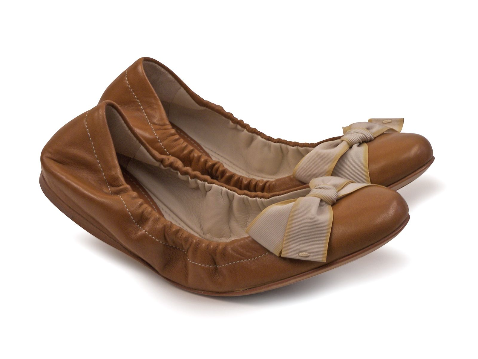 8fb60f07c0e Car Shoe women s ballerina in cuir color Soft leather - Italian Boutique  €156