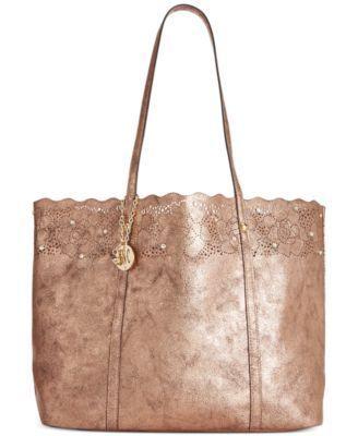 72284ef387e9 INC International Concepts Goldie Tote - Handbags   Accessories - Macy s