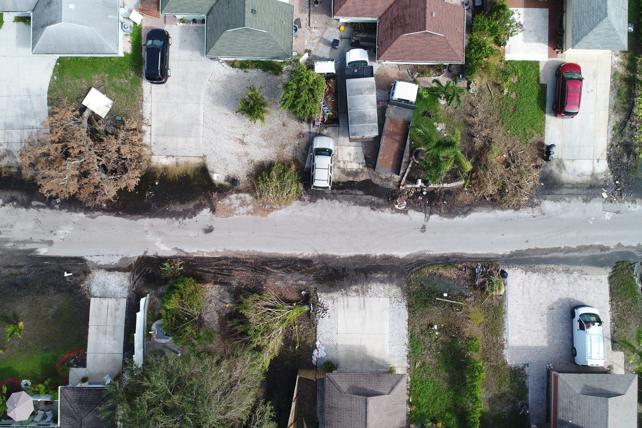 Drones are being for damage assessment roof inspection