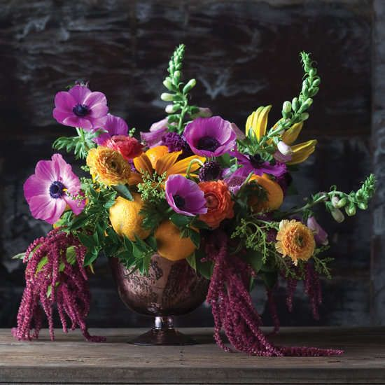 Floral Ingredient Guides - The Flower Recipe Book Revolves Around the Art of Arrangements (GALLERY)