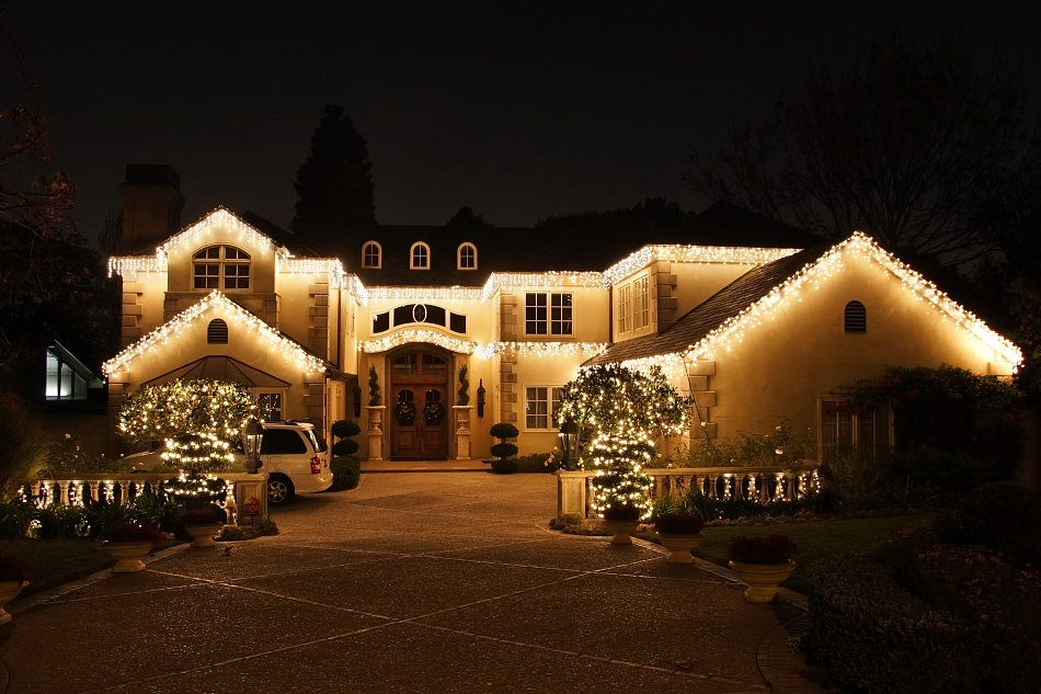 Residential Outdoor Christmas Light Display   San Antonio Christmas Ligh…   Outdoor christmas ...