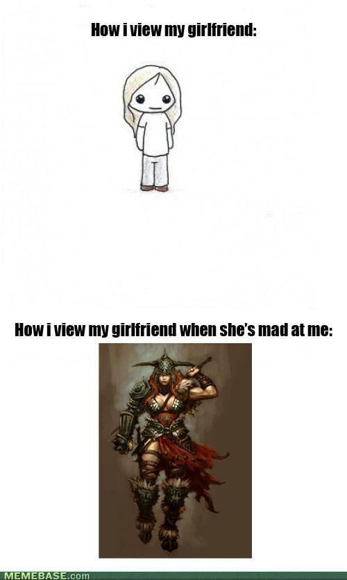 Angry Girlfriend Angry Girlfriend Boyfriend Quotes Funny Girlfriend Meme
