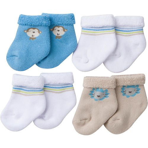 Keep His Little Feet Cozy Warm With Gerber Terry Bootie