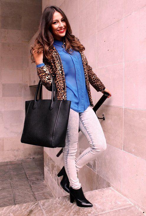 Leopard print…  , Primark en Camisas / Blusas, Primark en Blazers