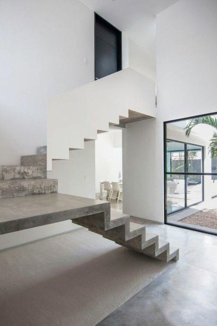 int rieur en b ton d coratif nos conseils deco. Black Bedroom Furniture Sets. Home Design Ideas
