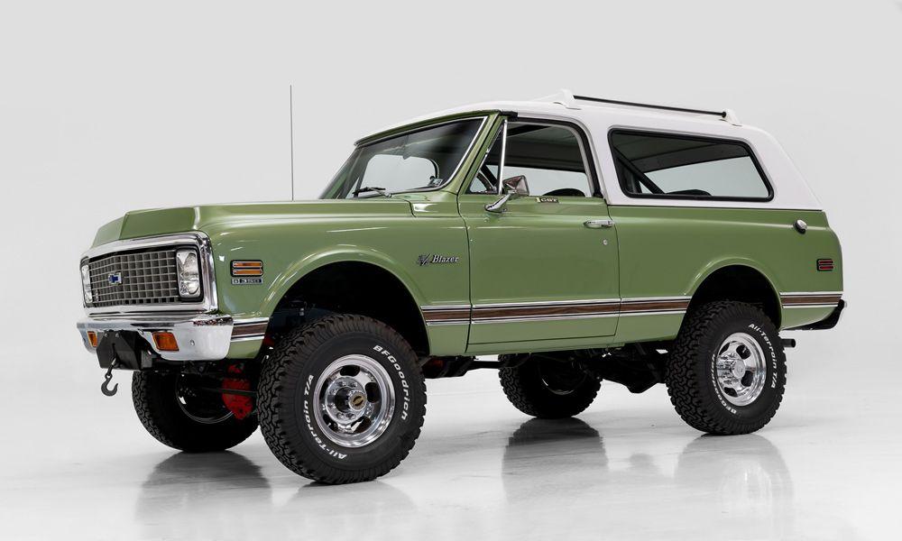 1972 Chevy Blazer Cheyenne Chevrolet Blazer Classic Trucks Chevy