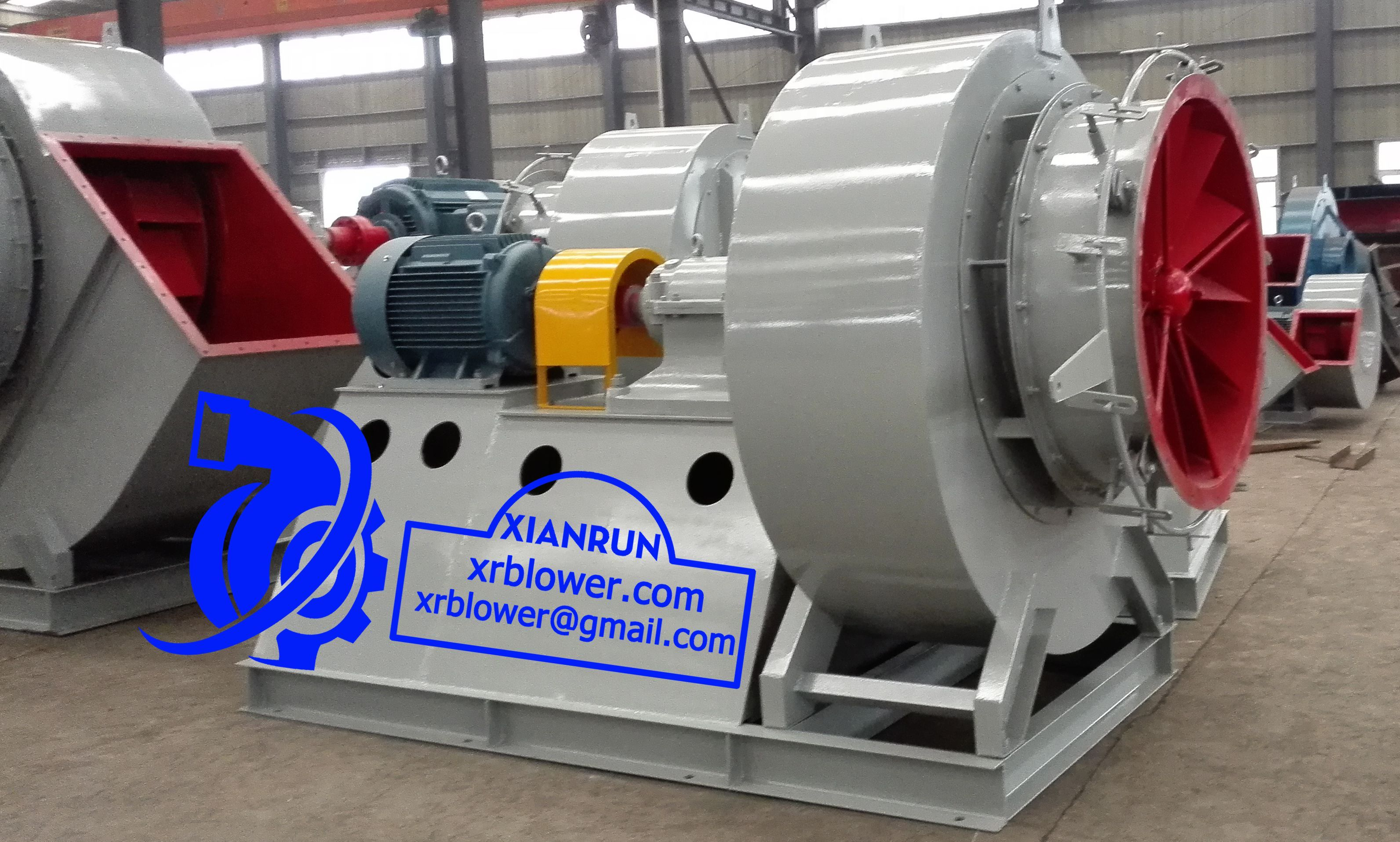 Industrial Fans And Blowers : Xianrun blower manufactures id fan fd centrifugal