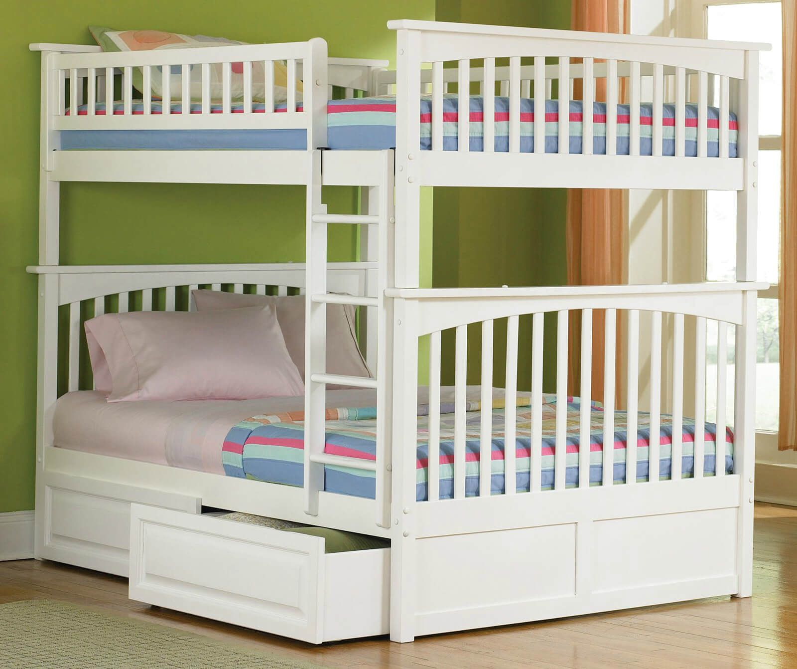 Double Loft Bed For Kids 201 Fun Kids Bedroom Design Ideas For 2018 Munchkins