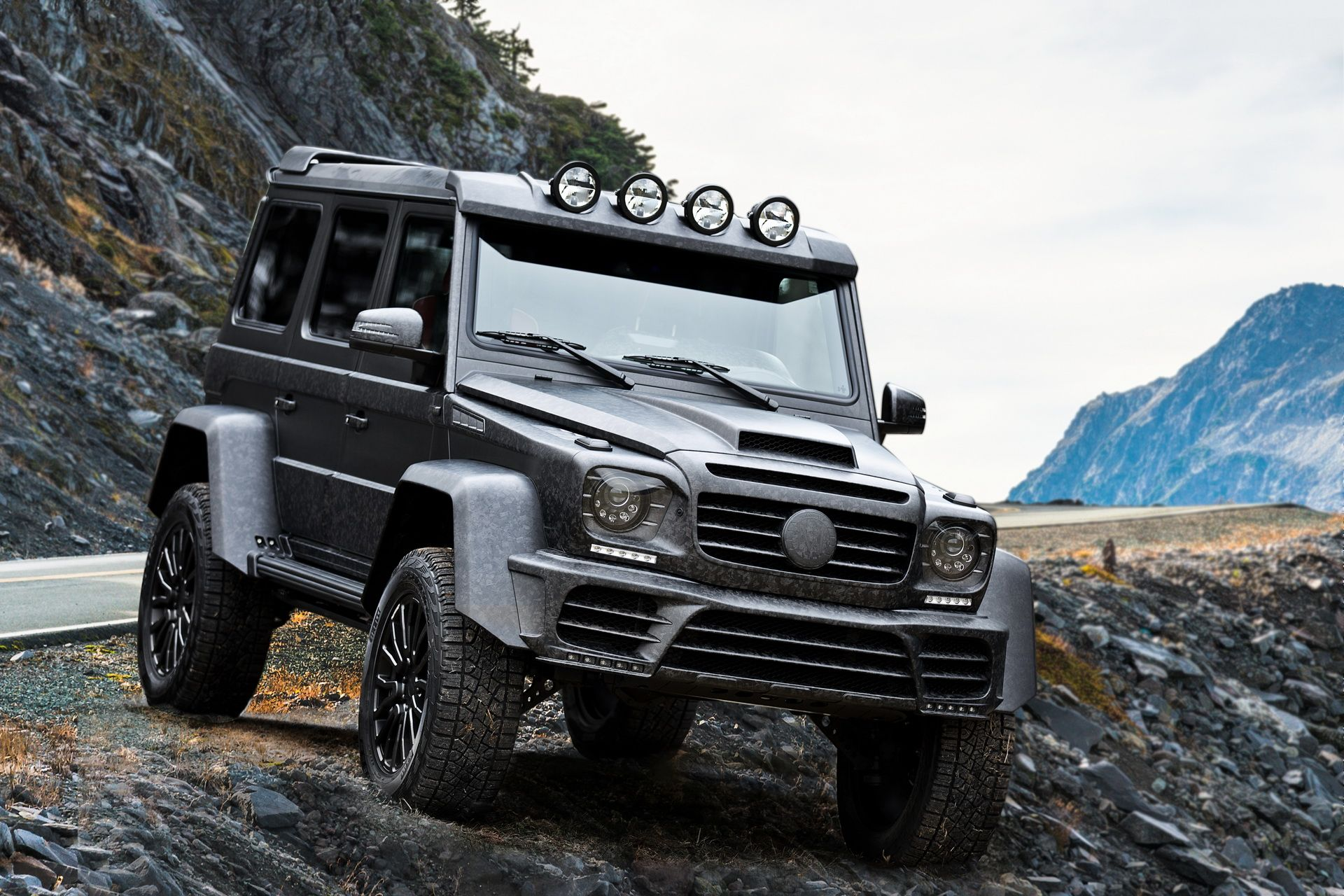 Geneva 2017 Mansory Refines The G500 4x4 Into The Gronos Black Desert Mansory Has Manufactured The Widebody Kit For The Gron Mercedes Benz Used Mercedes Benz