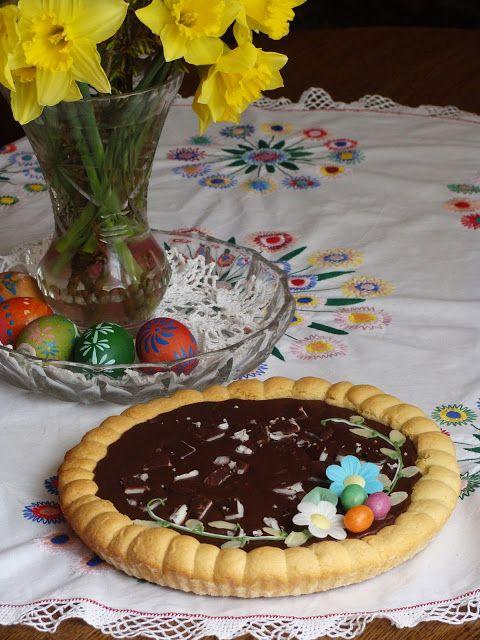 Izioni pyszne smaki: Mazurek czekoladowo - miętowy