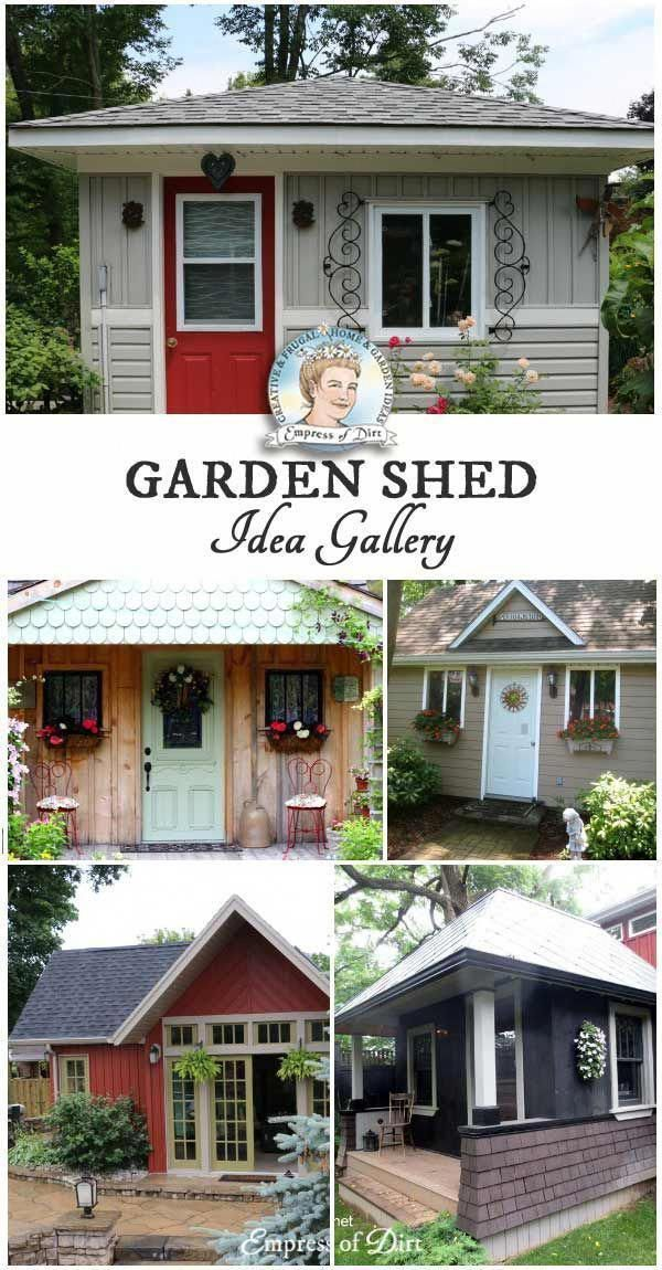 40 Creative Home Garden Shed Designs Shed Planning Life