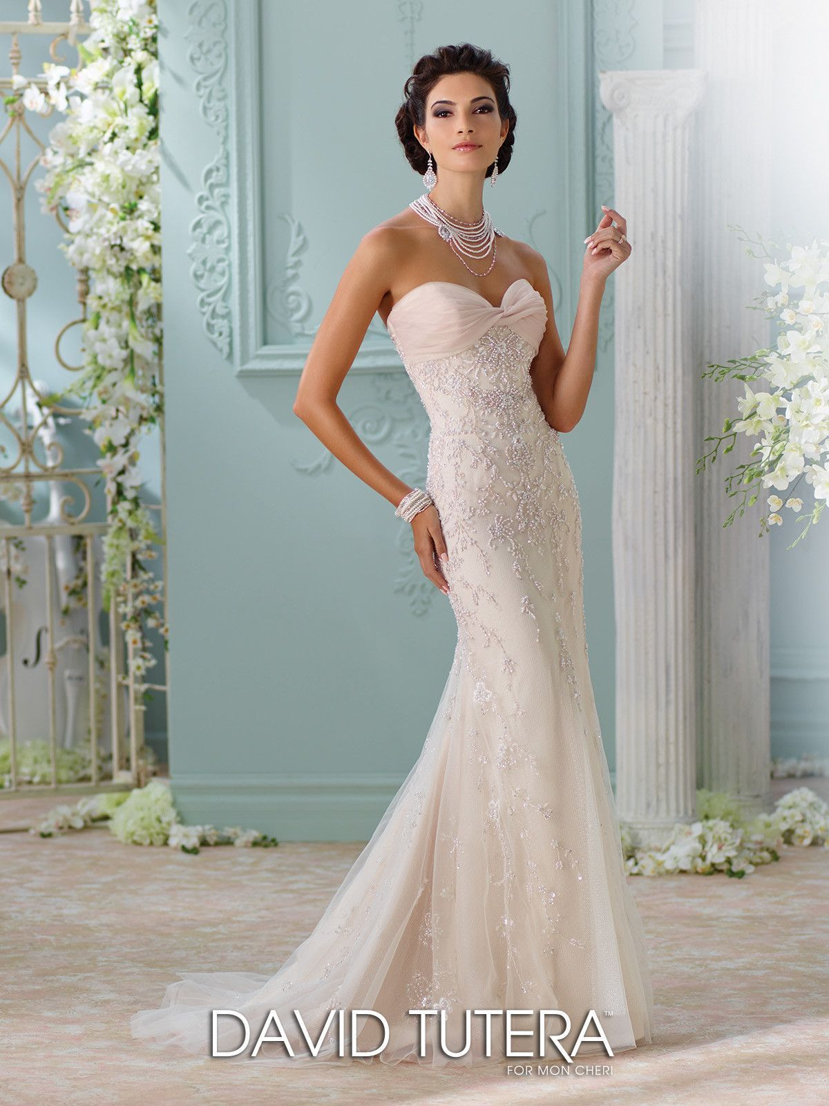 David tutera couture edan all dressed up bridal gown