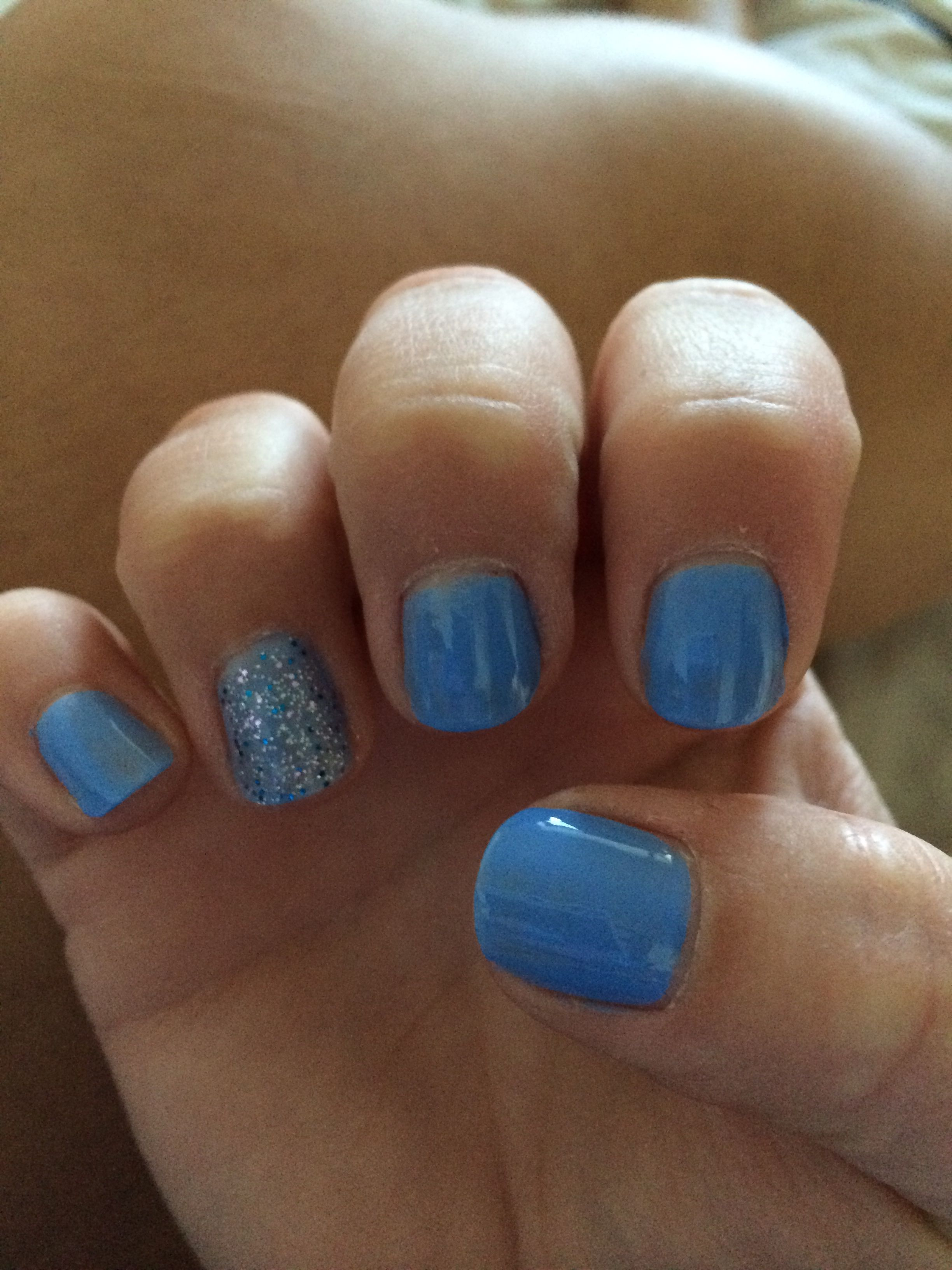 Rimmel fancy a dip? And disco ball - my summer nails! Perfect for a ...