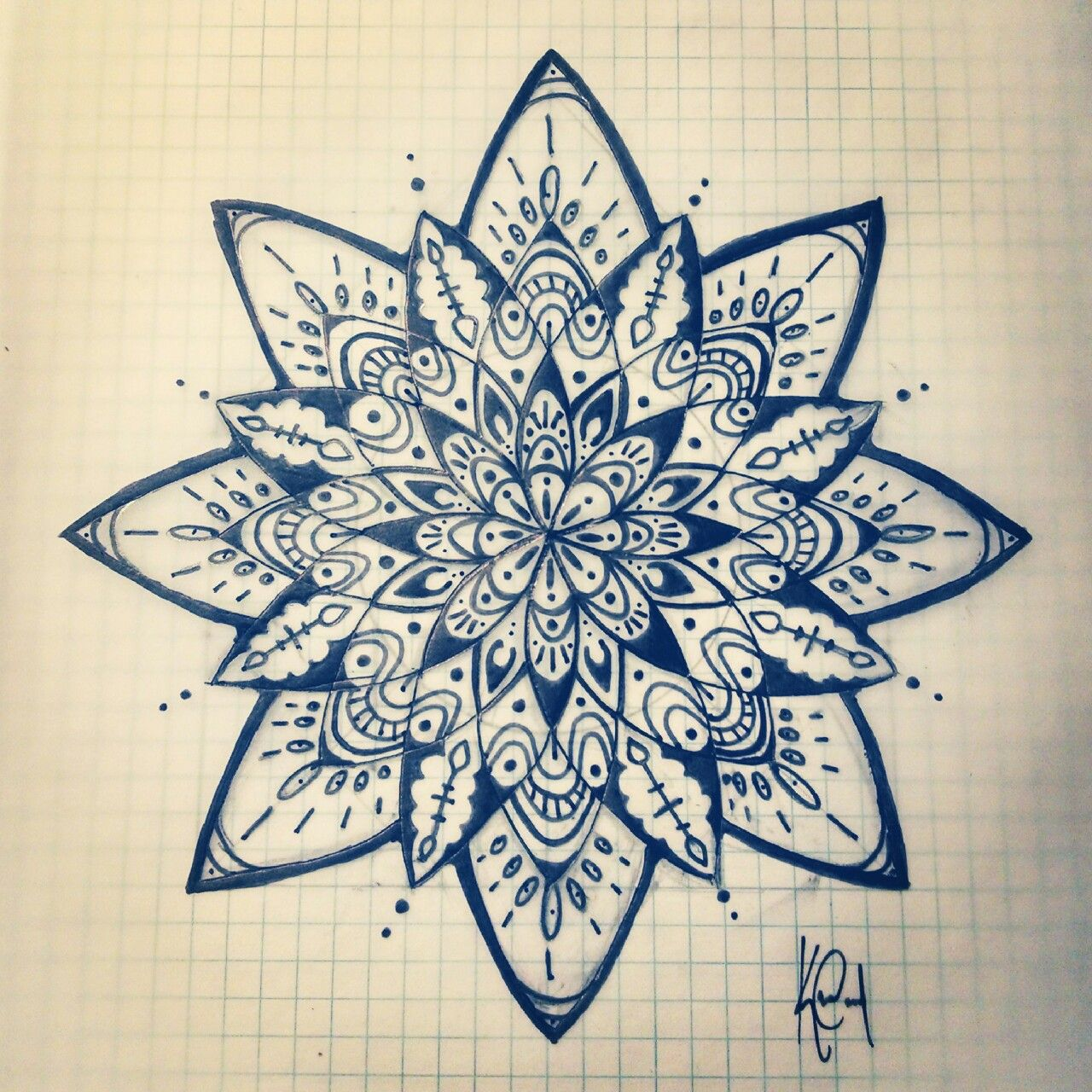 I absolutely love the intricate design of mandala so much so that i i absolutely love the intricate design of mandala so much so that i have finally chosen the design to be my right shoulder tattoo draw my mandala on grid izmirmasajfo