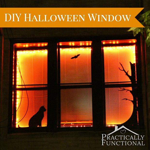 Halloween Decorations DIY Vinyl Window Stickers Pinterest - halloween window decorations