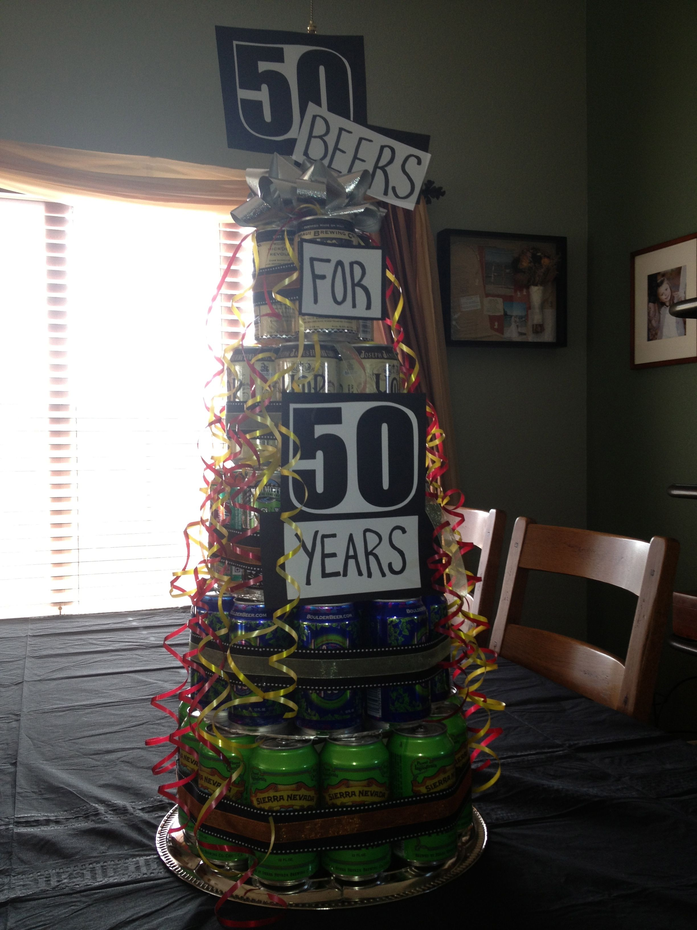 50th Birthday Beer Cake Nailed It Jessie Anderson