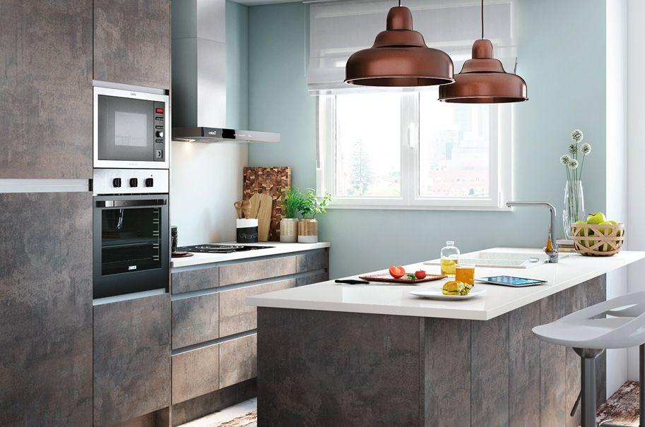 Inspírate y crea una cocina abierta al salón ¿Qué te parece? Leroy