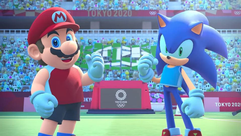 Opening Movie For Mario Sonic At The Olympic Games Tokyo 2020 Https Nichegamer Com 2019 10 12 Opening Movie For Mario Sonic At Th Sonic Mario Olympic Games