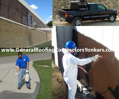 Waterproofing Contractor Yonkers Has Been Offering Their Services For Your Properties Safety And Durability O Masonry Work Roofing Contractors Brick Sealer