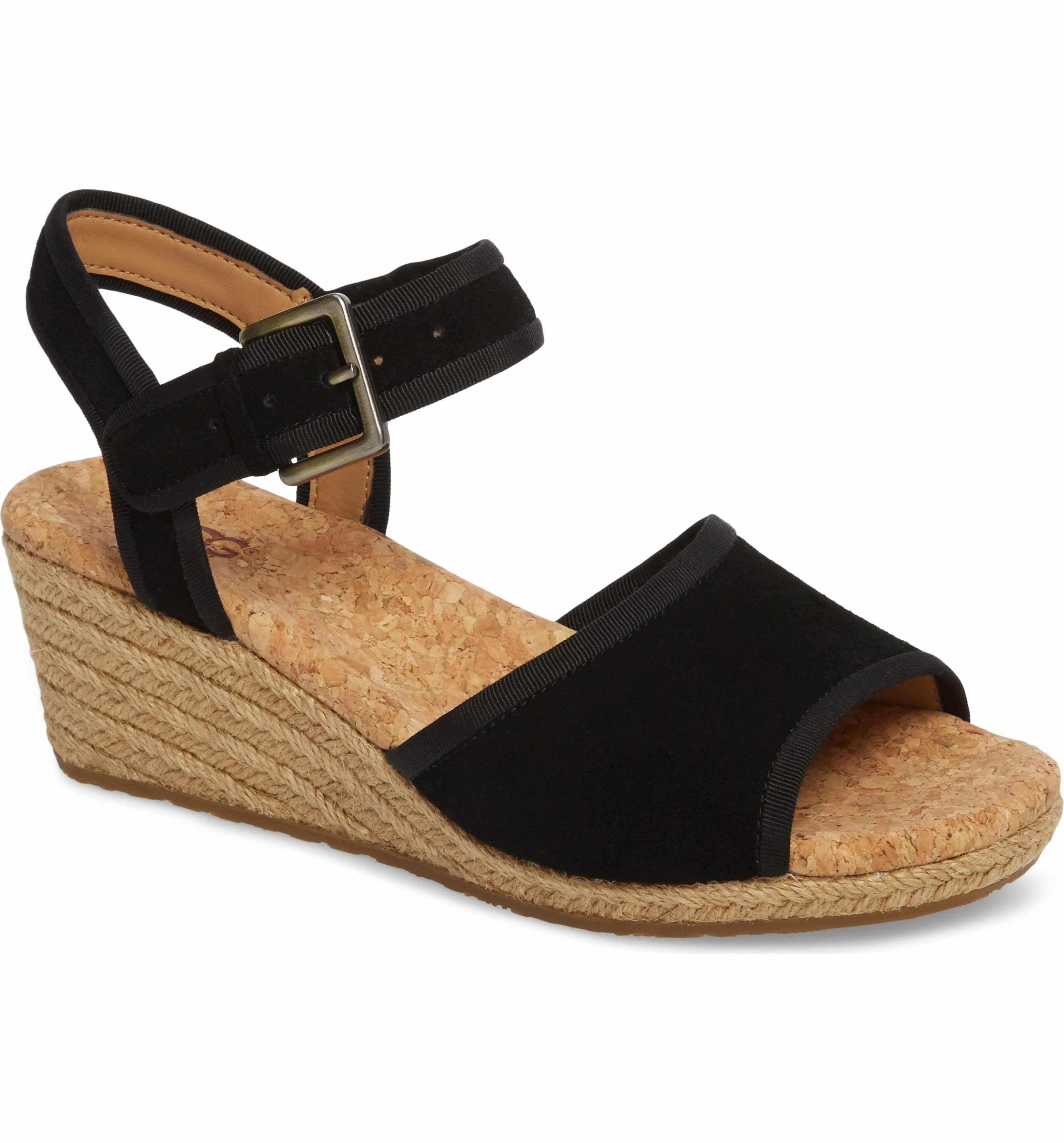 UGG Maybell Wedge Sandal (Women's) e5pwXAF