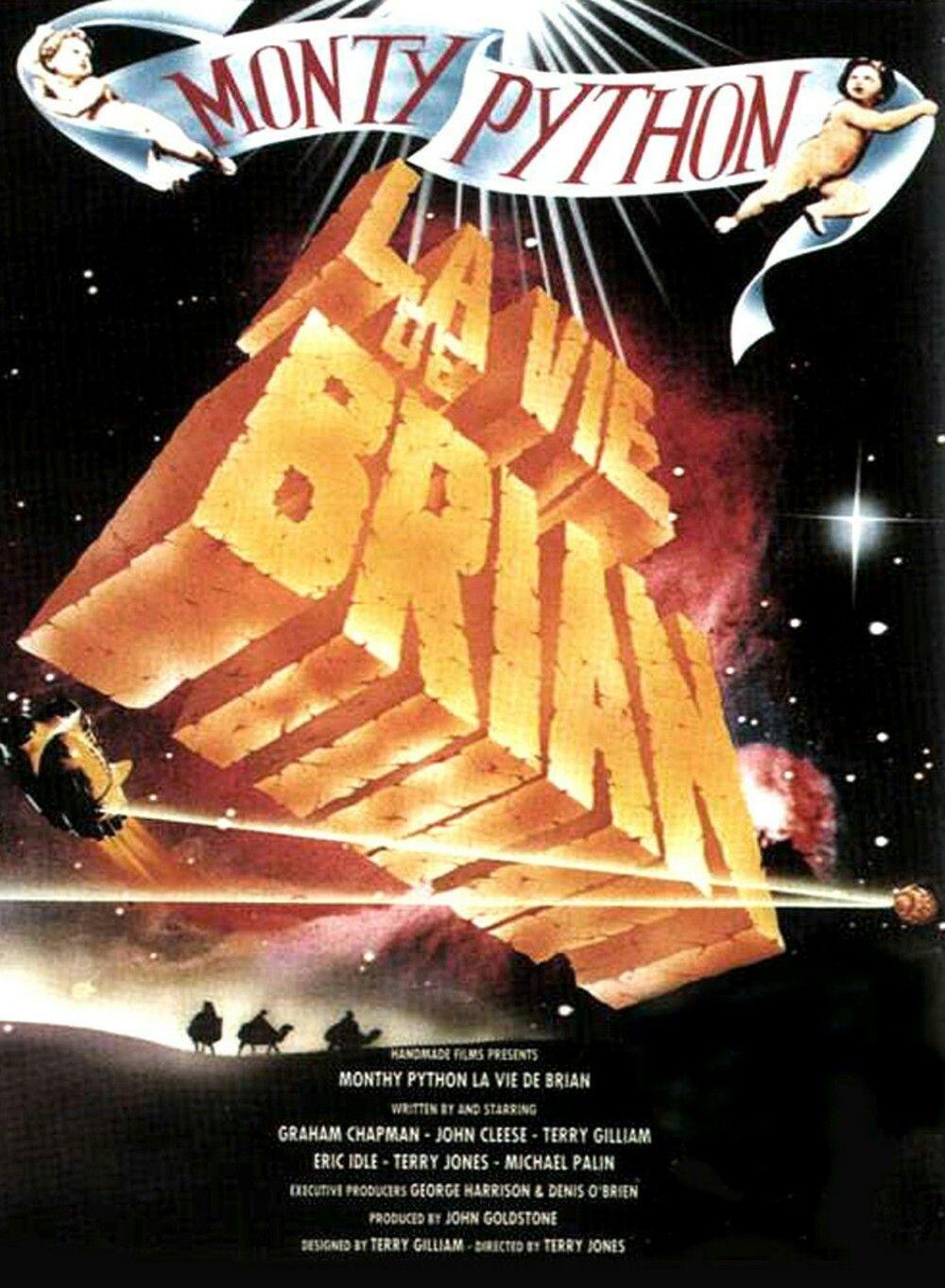 La Vie De Brian Streaming : brian, streaming, Brian, Monty, Python, Vieux, Films,, Brian,
