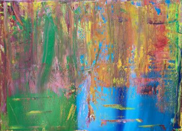 Abstract oil painting - RM 817 - 16
